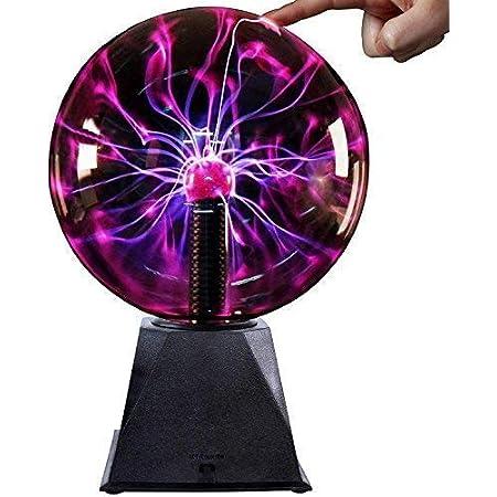 Boule de Plasma -6Pouce–Nebula, Thunder Lightning, Les fêtes Prop, décorations de Chambre à Coucher, Enfants, Maison, et Cadeaux