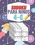 Sudoku Para Niños 4-6: SUDOKU para los niños y niñas 4-6 Años más pequeños Muy Fácil , 8,5x11 in 126 páginas.100 rompecabezas Sudoku fácil 6x6 ,con soluciones Incluidas.