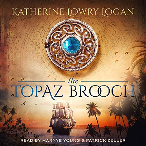 Page de couverture de The Topaz Brooch (Time Travel Romance)