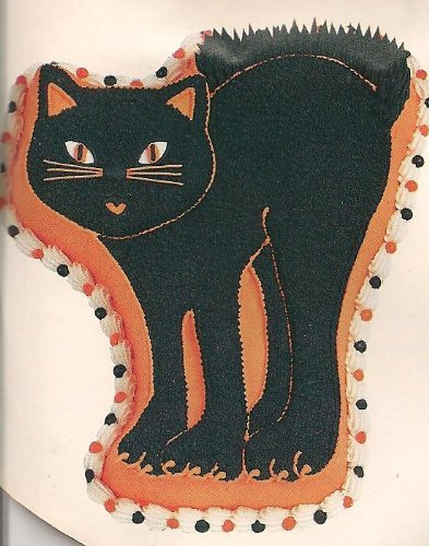 Wilton Cake Pan: Scary Cat/Tabby Cat/Birthday Cat (2105-5207, 1992)