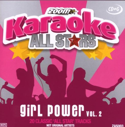 Zoom Karaoke CD+G - Girl Power - Vol. 2 - All Stars Karaoke Series ZAS003