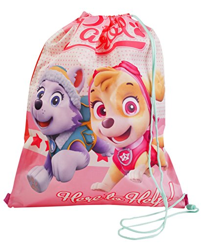 Girls Paw Patrol Drawstring Bag Everest Skye