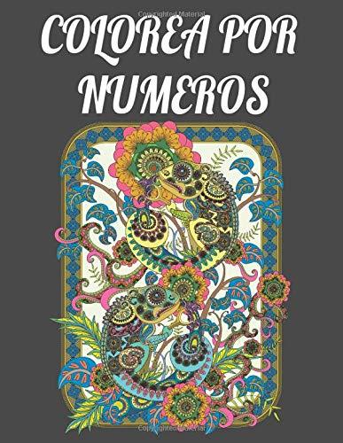 Colorea por numeros: Para adultos y niños - Un libro de actividades con divertidos 30 colorear para todas las edades