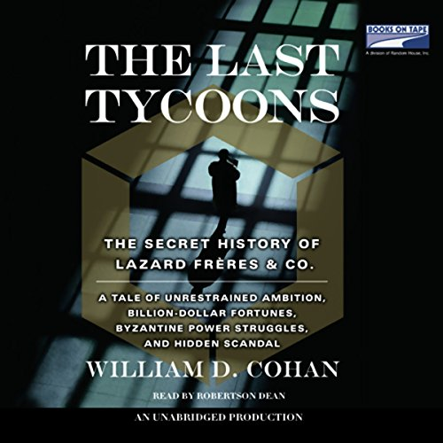 The Last Tycoons audiobook cover art