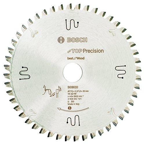 Bosch Professional 2608642101 Kreissägeblatt Best for Wood 216 x 30 x 2.3 mm Z48WZ