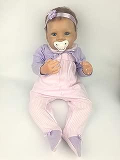 AVANI DOLL ''Lisa'',18 inch Lifelike Reborn Baby Doll Handmade Baby Doll That Looks Real,Realistic Newborn Soft Vinyl Baby Girl Doll