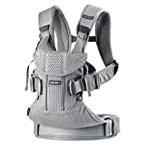 BabyBjörn New Baby Carrier One Air 2019 Edition, malla, plata, talla única