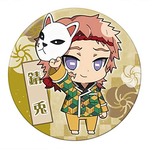 Sbarden Demon Slayer: Broche Kimetsu no Yaiba, Broche de acrílico de Anime...