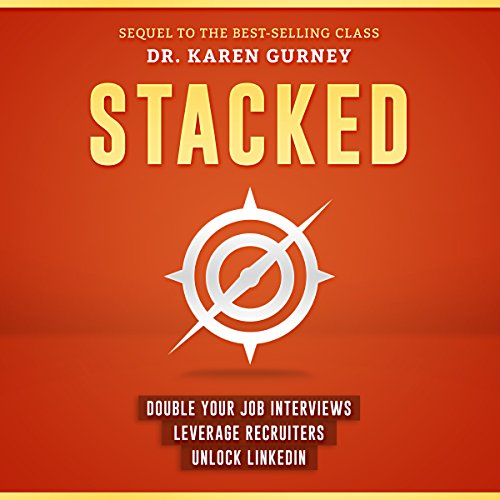 Stacked audiobook cover art