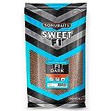 Sonubaits F1 Dark Original Sweet Fishmeal Groundbait 2Kg