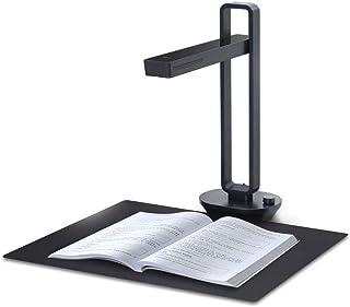 Book And Document Scanner, High Definition Portable Document Camera, Auto-Flatten & Deskew, Capture Size A3, Multi-Languag...