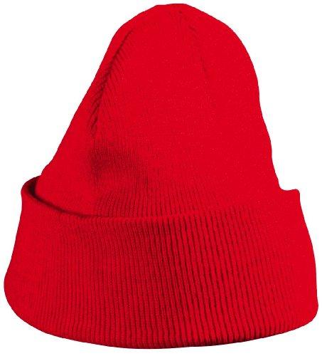 MB CAPS - Bonnet - Homme Rouge Rouge