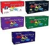 Okamoto Condoms For Men Skinless Skin - Ultra Thin,Strawberry,Blueberry,Mint & Vanilla (5 x 10s)