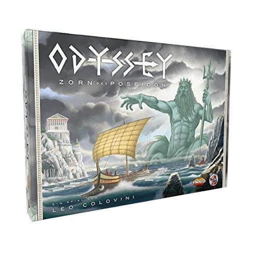 Asmodee HE826 Odyssey Zorn des Poseidon, Spiel