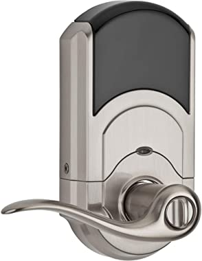 Kwikset 99120-037 SmartCode 912 Z-Wave Plus Keyless Entry Electronic Deadbolt with Tustin Lever Featuring SmartKey Security,