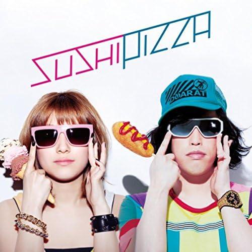 SUSHI PIZZA(やついいちろう&IMALU)