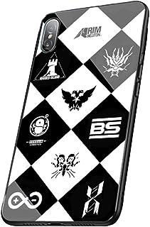 アークナイツ Arknights iPhone11 pro IPHONE 11PRO ケース スマートフォン 強化ガラスケース 鏡面ガラス ハードケース レンズ保護 漫画 携帯電話ケース スマホケース アイフォン スマホカバー コスプレ (01)