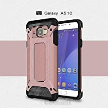 Cocomii Commando Armor Galaxy A5 2016 Case New [Heavy Duty] Premium Tactical Grip Dustproof Shockproof Bumper [Military Defender] Full Body Rugged Cover for Samsung Galaxy A5 2016 (C.Rose Gold)