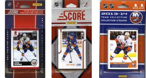 C & I Collectables NHL New York Islanders 3 Verschiedene lizenzierte Sammelkarten-Team-Sets