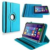 NAUC Tablet Hülle für Haier Pad 971 Tablet Tasche Schutzhülle Universal Bag Etui, Farben:Türkis