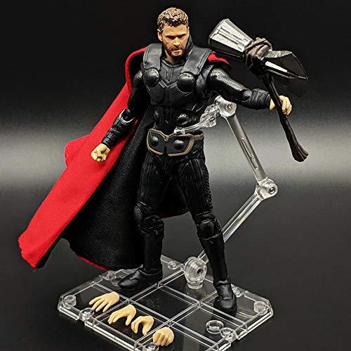LIULL SHF Endgame Thor Thoring Axt Und Hammer Charakter Modell Marvel Avengers Kinderspielzeug