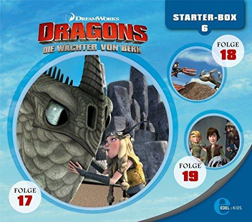 Dragons - Die Wächter von Berk - Starter-Box 6 (Hörspiel Folge 17-19)