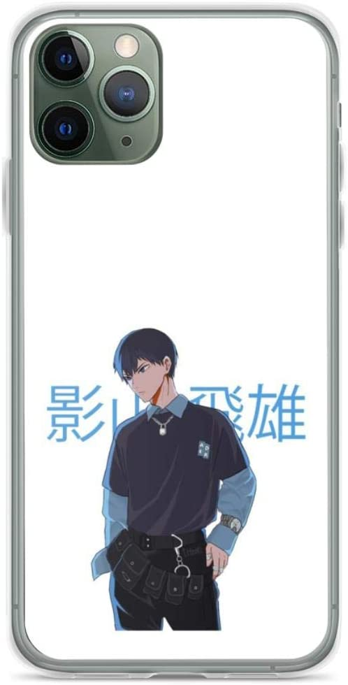 E-boy Kageyama Phone Case Compatible with iPhone 12 11 X Xs Xr 8 7 6 6s Plus Pro Max Samsung Galaxy Note S9 S10 S20 Ultra Plus