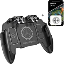 PUBG Mobile Controller Bundle with 1 Screen Joystick |e-Times 4 Triggers with L1R1 L2R2 Touch Screen Joypad Tablet for Various Games