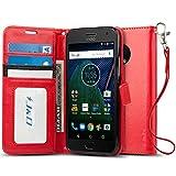 J&D Case Compatible for Motorola Moto G5 Plus Case, Wallet