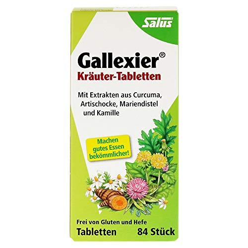 Salus Gallexier Kräuter-Tabletten,84St