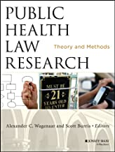 Public Health Law Research: Theory and Methods