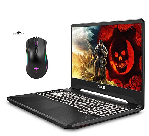 2021 Newest Asus TUF Gaming Laptop 15.6' IPS Full HD, AMD Ryzen 7 3750H, 4GB GeForce GTX 1650, RGB Backlit Keyboard, Webcam, Gigabit Wi-Fi 5, Win 10 + GM Gaming Mouse (32GB RAM | 1TB SSD)