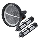 Fuel Tank Sending Unit Filter Screen Strainer and Filter Compatible with Ford 6.0L 7.3L PowerStroke Diesel Engine E5TZ-9J306-BA 4C4A-9365-BA 904-419