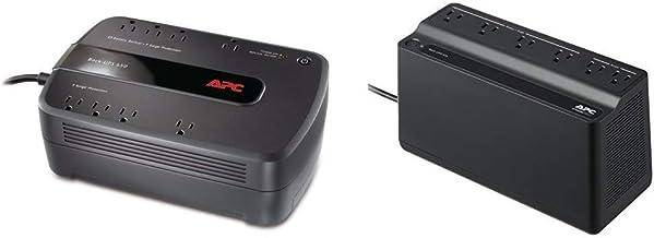APC UPS Battery Backup & Surge Protector, 650VA, APC Back-UPS (BE650G1) Bundle with APC UPS Battery Backup & Surge Protect...