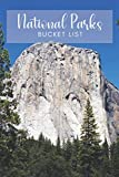 National Parks Bucket List: United States National Parks Checklist by State with Event Pages to Log Your Park Visits Hikes Photos Souvenirs