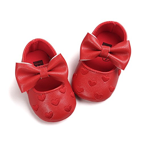 RVROVIC Baby Girls Shoes Soft Sole Mary Jane Flats Princess...