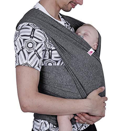 Lictin Babytragetuch Kindertragetuch Babybauchtrage Elastisches Tragetuch für Baby Neugeborene Innerhalb 16 KG