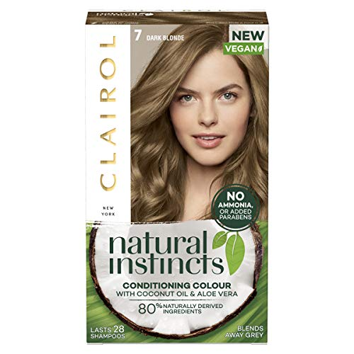 Clairol Natural Instincts Semi-Permanent No Ammonia Hair Dye 7 Dark Blonde