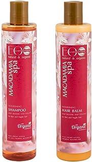 EO Laboratorie natural & organic Macadimia Spa Shampoo, 350 ml & Conditioner, 350 ml