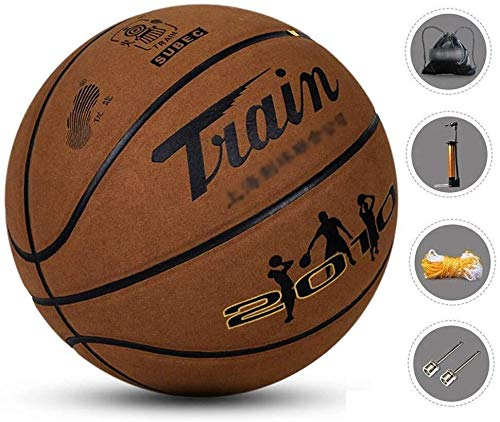 Read About ZHOU.D.1 Basketball- Standard Basketball Indoor and Outdoor No. 7 Basketball Size 9.7 Inc...