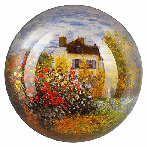 Goebel 66-879/05 Das Künstlerhaus - Pisapapeles Decorativo (Cristal), diseño de casa Antigua