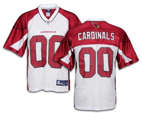 Arizona Cardinals NFL Mens Team Replica Jersey, White (X-Large)