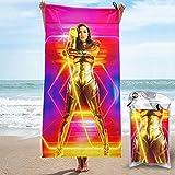 BrantQuee Wonder Woman 1984 Stylish Printed Bath Towels,...