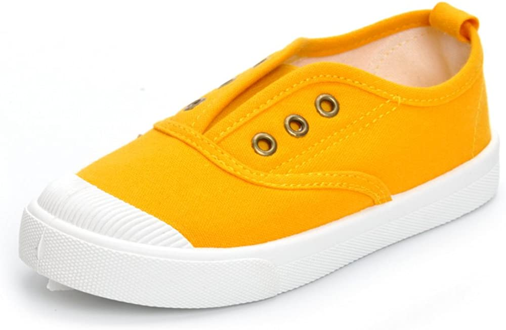 Toddler Boys Girls Candy Color Boat Luxury goods Max 49% OFF Shoe Canvas Casual Sneakers