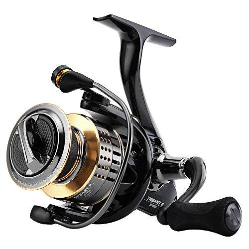 SKYSPER Carretes de spincasting 10 + 1BB 6.2:1 Pesca Spinning Carrete Sistema de Fibra de Carbono Arrastre