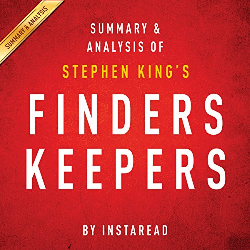 Finders Keepers by Stephen King audiobook cover art