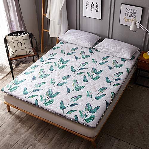 Comfortabel Tatami-matras, 5-6 cm, multifunctioneel, opvouwbaar, ademend, alle seizoenen matras, 5 stijlen om uit te kiezen. 90 * 200cm 03