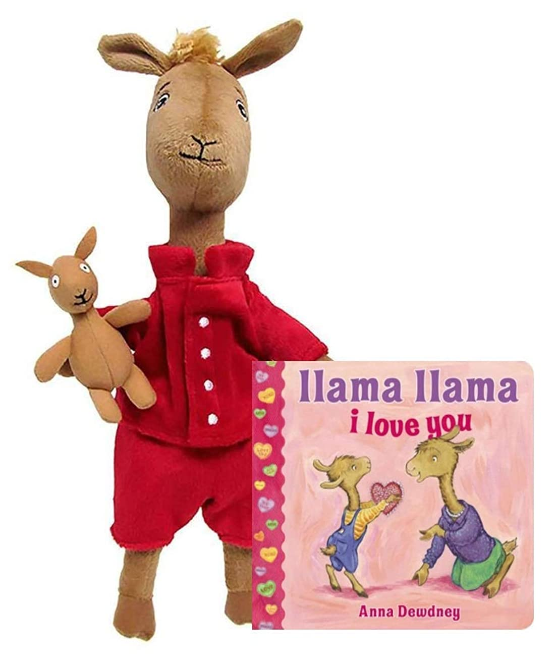 Kids Preferred Llama Llama Red Pajama Large Stuffed Animal Collection (Gift Set)