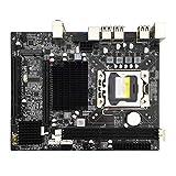 KKLL Computer Motherboard Computer Motherboard Fit for X58 1366 Gaming Motherboard Support ECC Server Memory SATA II for Intel LGA1366 Xeon CPU Computer Mainboard X5650 5670 Pc Part Motherboard