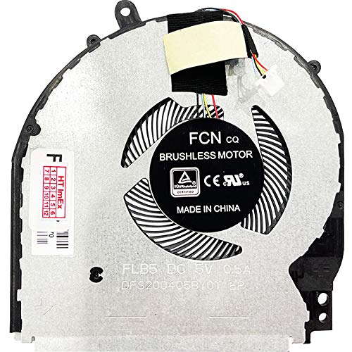 Ventilador de refrigeración compatible con HP Pavilion X360 15t-dq, X360 15t-dq000, X360 15t-dq100, X360 15t-dq200